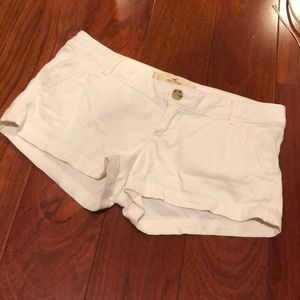 Hollister white shirt size 1